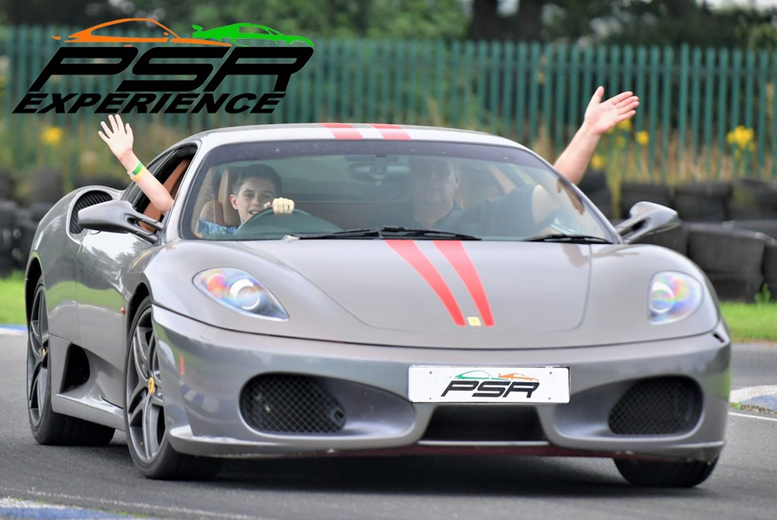 From £19 for a three-lap sports or muscle Junior Driving Experience at PSR Experience in your choice of 11 locations, from £39 for a supercar experience, from £37 for six laps, or from £55 for nine laps