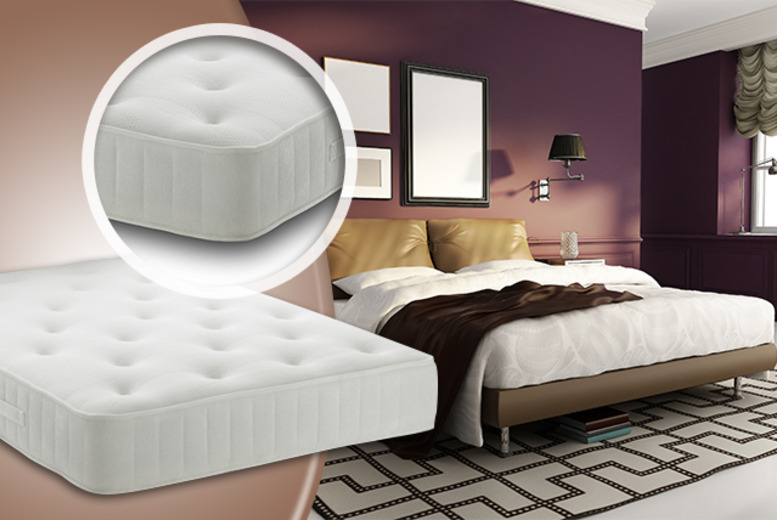 £199 for a single 3000 Quartz Memory Pocket-Sprung Mattress, £239.95 for a double, £249.95 for king or £319.95 for super king - save up to 67%