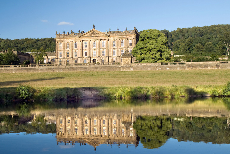 £139 (from Great Little Breaks) for a 1-night Peak District stay for 4 inc. 3-course dinner, breakfast & 2x Chatsworth House tickets – save up to 50%
