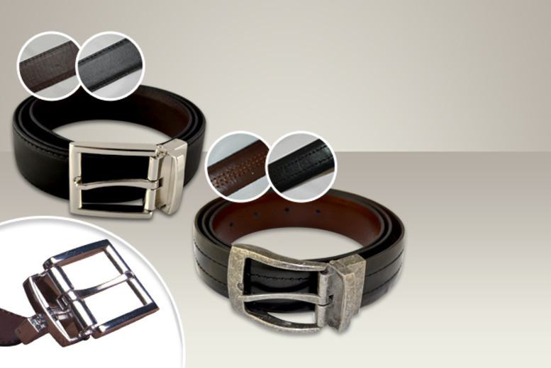 £5 instead of £9.99 (from Home Shopping Selections) for one reversible leather belt, or £9 for two - save up to 50%