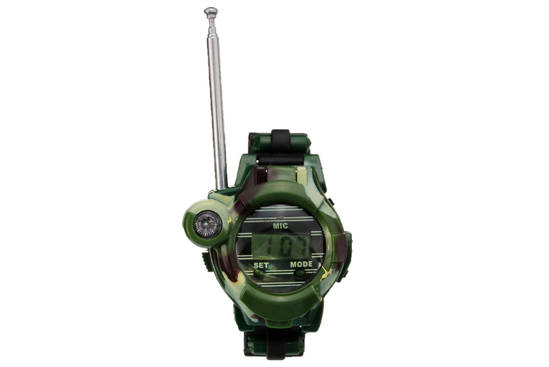 Image of 2 Walkie Talkie Watches Deal | Green | Living Social