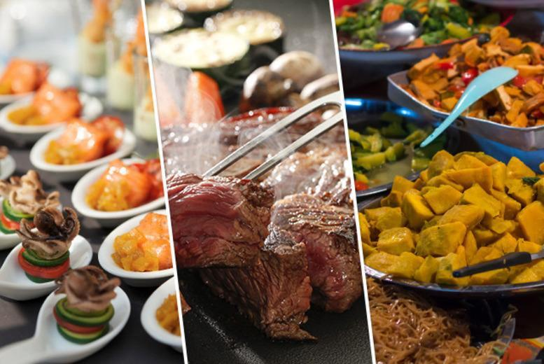 £9 for an 'all you can eat' buffet inc. dessert and a glass of wine, £18 for 2 people, from £22 for 4 at Tara Tari, Finchley Road - save up to 51%
