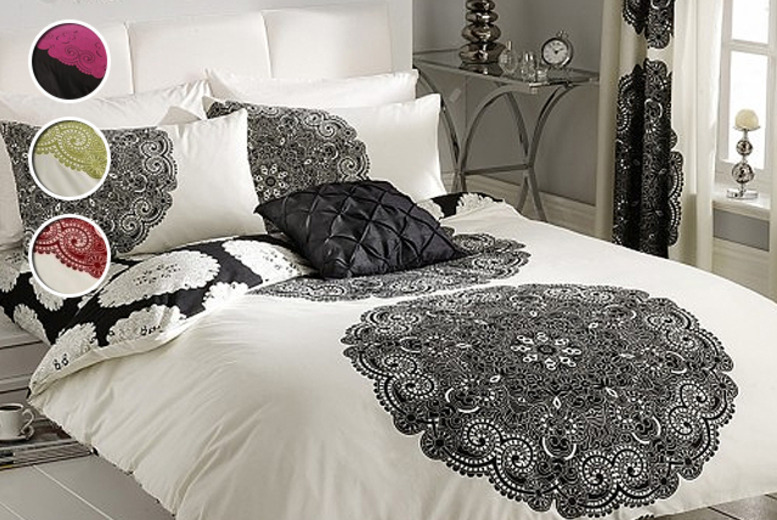 £10.99 (from Your Essential Store) for a single duvet cover & pillow case set, £12.99 for a double, or £16.99 for a king  – save up to 52%