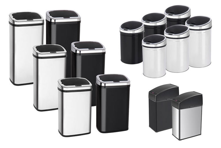 From £25.99 for an automatic sensor kitchen bin - help keep your home clean!