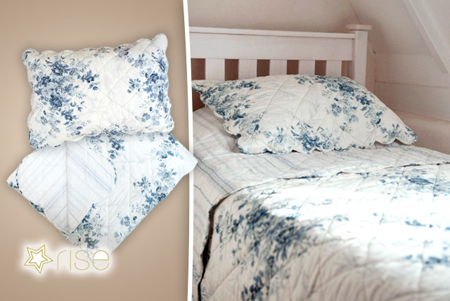 £20 instead of £70 (from Rise Fashion) for a single vintage reversible floral quilt set, £30 for a double or £40 for a king - save up to 71%