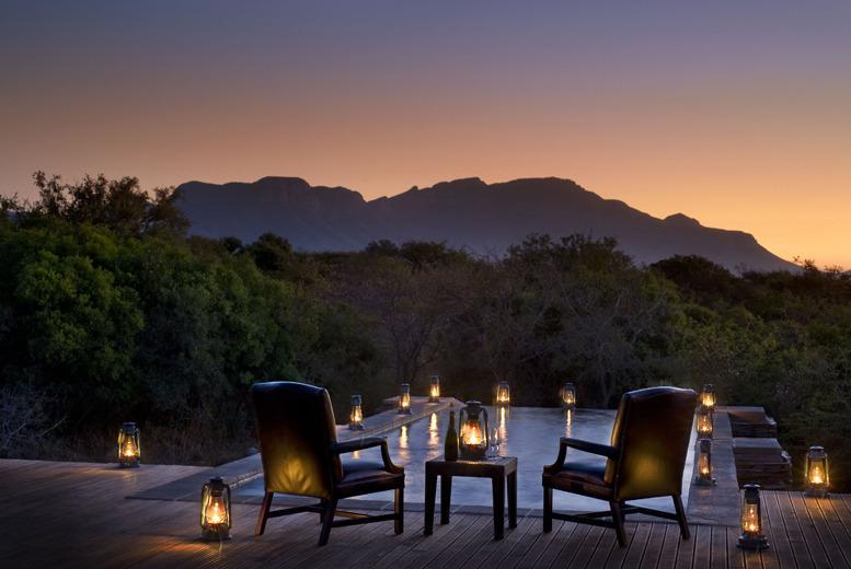 £799pp instead of up to £1187pp (at the Vuyani Safari Lodge, South Africa) for a 7nt 5* all-inclusive safari stay - save up to 33%