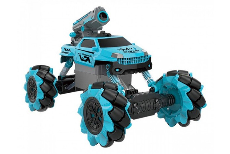 Image of 2-In-1 Remote Control Drift Toy Car | Blue | Living Social