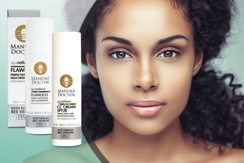 £16 instead of £33.98 (from Manuka Doctor) for a 2pc CC Cream & Primer skincare set - save 53%