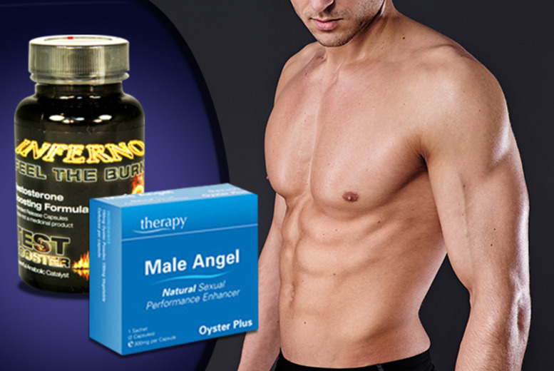 £16 instead of £81 (from GB Supplement) for a 1-month* supply of Inferno supplement capsules and 10 Male Angel pills - save 80% + DELIVERY INCLUDED