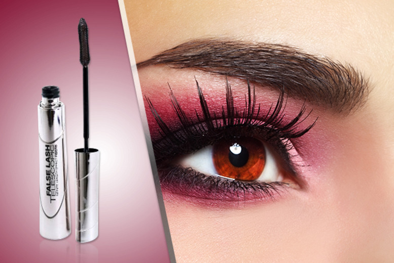 £7 instead of £10.99 (from Look 'n' Style) for L'Oreal 'False Lash Telescopic' mascara, £13 for 2 - save up to 36% + DELIVERY INCLUDED