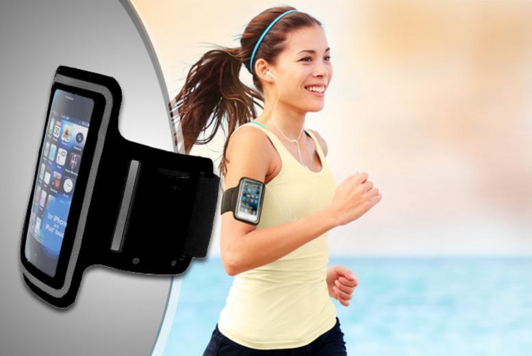 £4.99 instead of £16.99 (from Links 4) for a smartphone sports armband, or £5.99 inc. earphones and screen protector - save up to 71%