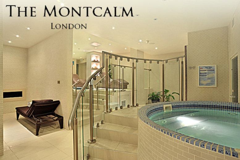 £69 for a 2-hour spa experience for 2 including afternoon tea, £89 for a full spa day at 5* Montcalm Hotel, Mayfair