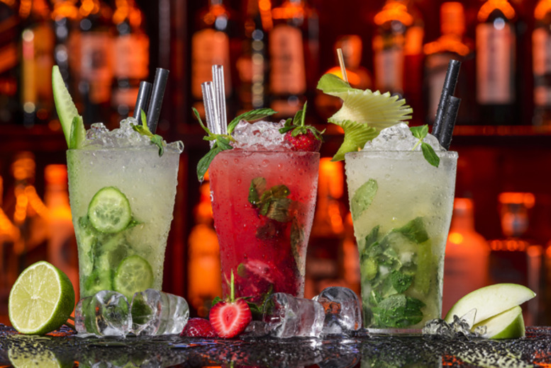 £9 instead of up to £22 for 4 cocktails and tortilla chips to share between 2 at The O Bar, Birmingham – save up to 59%