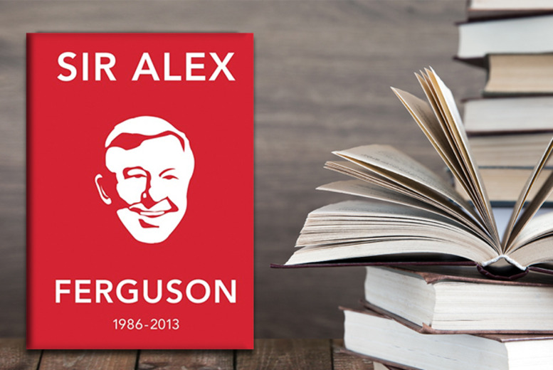 £3.50 for a hardback copy of 'The Alex Ferguson Quote Book: The Greatest Manager in His Own Words' from Random House