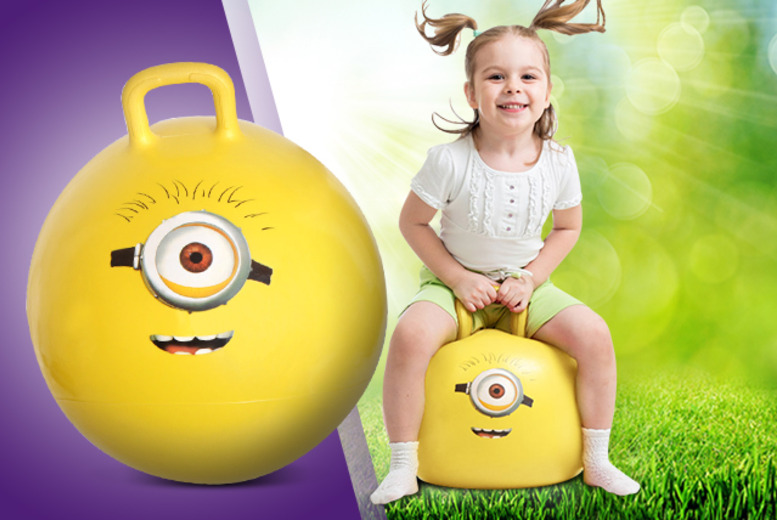 £9.99 instead of £17.67 for a 'Despicable Me' minion space hopper from Wowcher Direct - save 43%