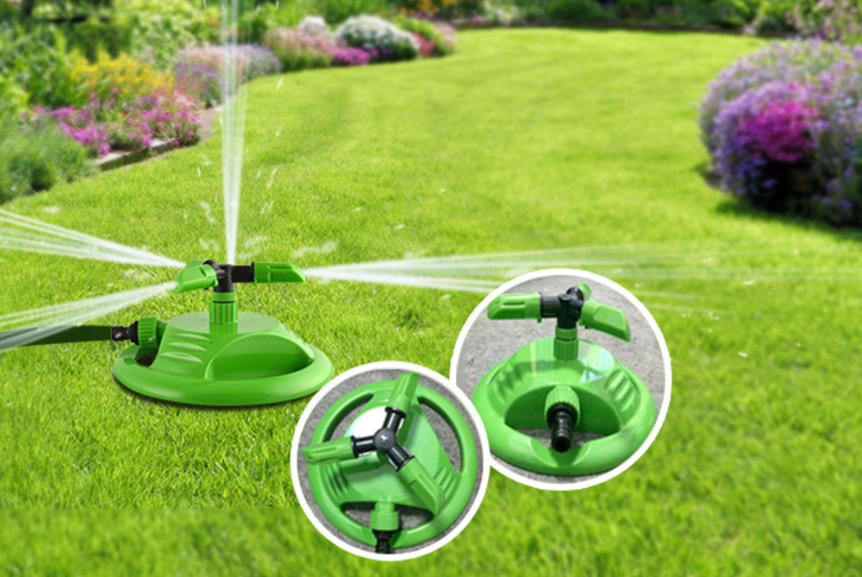 £6.50 instead of £14.99 (from Web 18) for a garden hose sprinkler, £11 for 2 - get that lawn looking lush for summer and save up to 57%