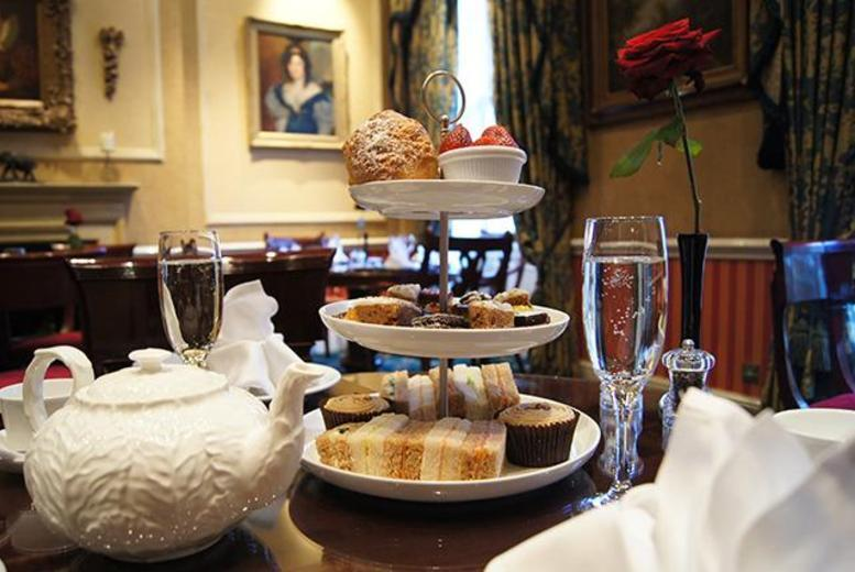£34 instead of £64 for a 'Royal' afternoon tea for 2 inc. a glass of Champagne each at The Leonard Hotel, Marble Arch - save 47%