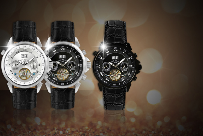 £199 instead of up to £1401.06 (from Kendor Van Noah) for an André Belfort 'Etoile Polaire' watch, valid in a variety of designs - save up to 85%