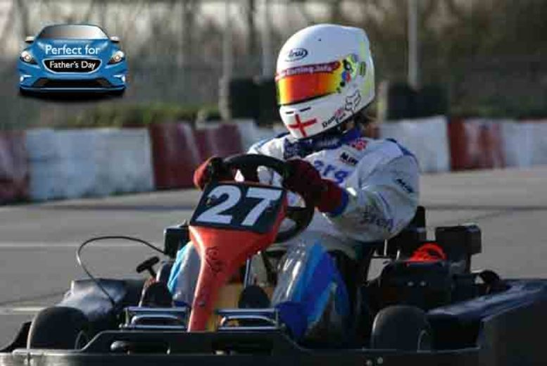 £12.50 instead of £25 for a go-karting experience, £25 for 2 people at Lakeside or Brentwood Karting (Essex) - save 50%