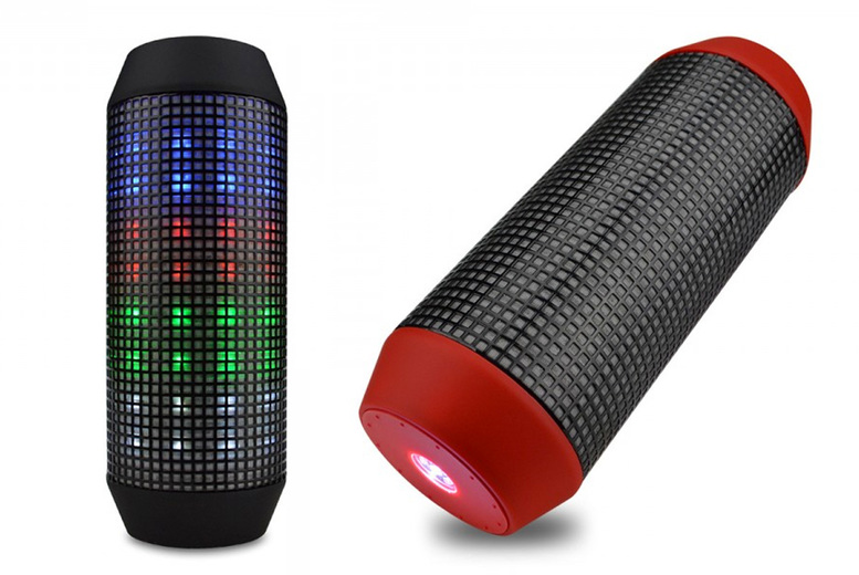 £14.99 instead of £48.99 for an LED Bluetooth wireless speaker in blue or black from Secret Storz - save 69%