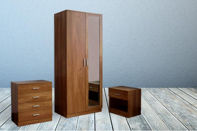 3pc bedroom furniture set - 3 Piece Bedroom Furniture Set