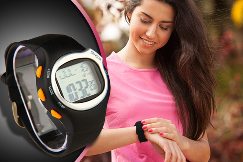 £12 instead of £49.99 (from Aneeks) for a 6-in-1 sports watch with heart rate monitor - save a heart-racing 76% + DELIVERY IS INCLUDED!
