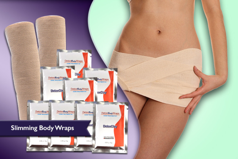 £12.99 instead of £79.99 (from Eden Organic) for a set of reusable 'detox' body wraps - save 84%