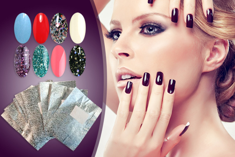 £21 instead of £33.44 (from RYV Products) for 5 gel polishes and one pack of 10 nail remover wraps - save 37%