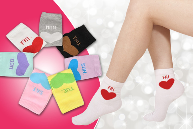 £7 instead of £21 (from Boni Caro) for 7 pairs of 'Monday to Sunday' socks made from 100% cotton - save 67%