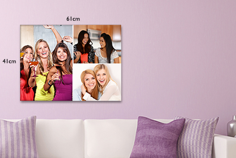 £10.99 instead of £29 (from Great Photo Gifts) for a personalised A2 canvas print - save 62%
