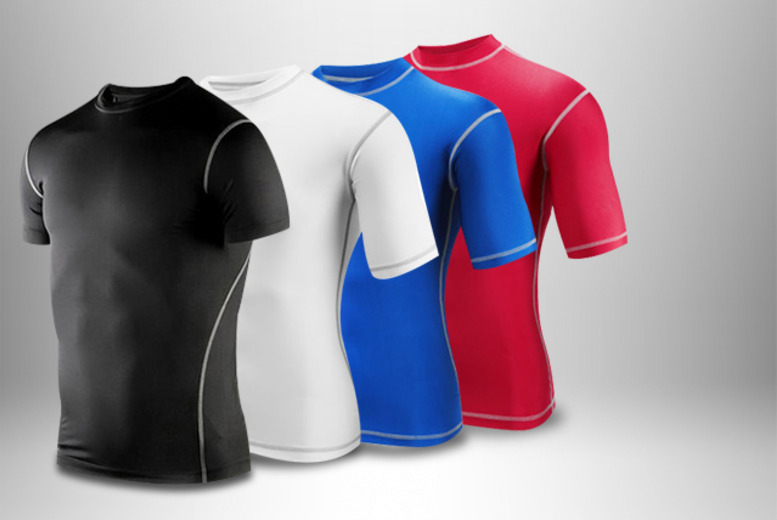 £9 instead of £27.99 (from Aneeks) for a men's thermal compression base layer - save 68%