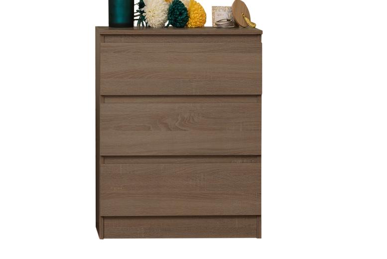 Image of 3-Drawer Bedside Cabinet | Living Social
