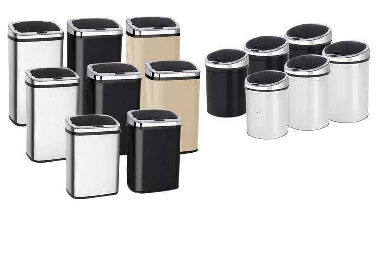From £29.99 for an automatic sensor kitchen bin - help keep your home clean!