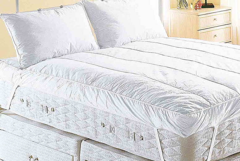 Image of Feather Mattress Topper   Small   Living Social