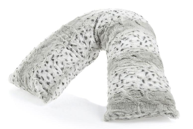 Image of Downland Snow Leopard V Pillow   Cream   Living Social