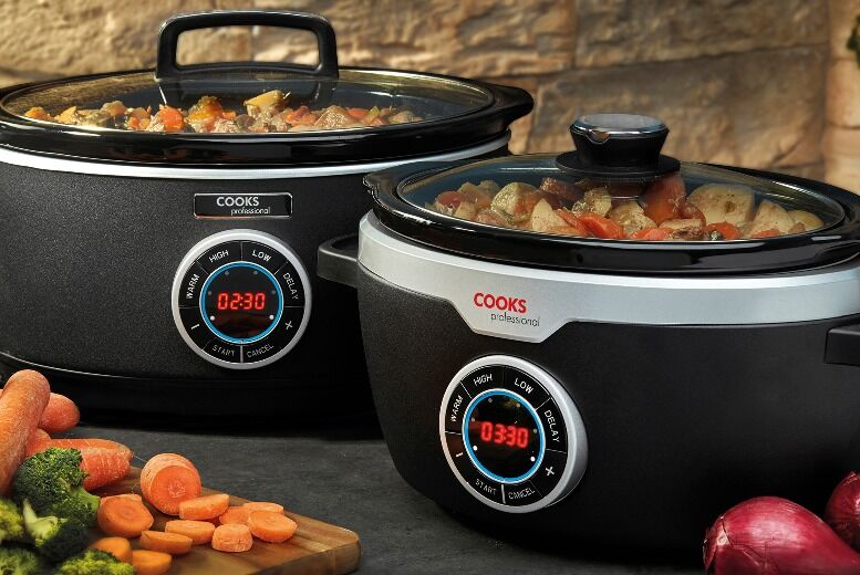 From £34.99 for a cooks professional digital slow cooker from cjoffers - save up to 53%
