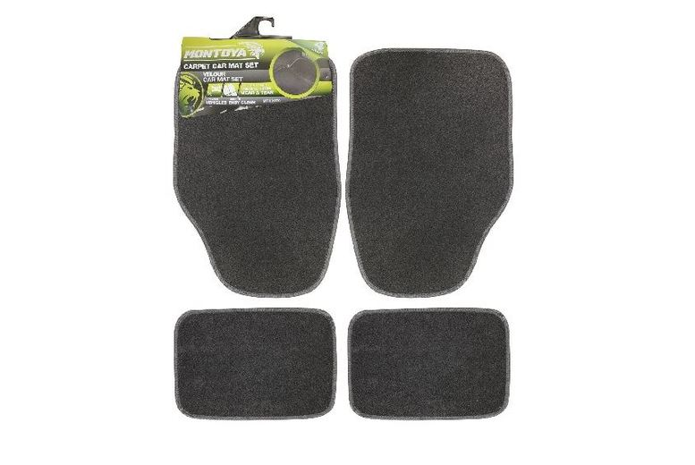 £5.99 instead of £19.99 for a 4Pc Set of Black Car Mats from ViVo Technologies - save 70%