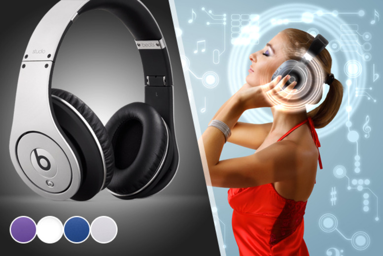 £199 instead of £249 for a pair of Beats Studio Headphones in a choice of colours from Wowcher Direct - save £50