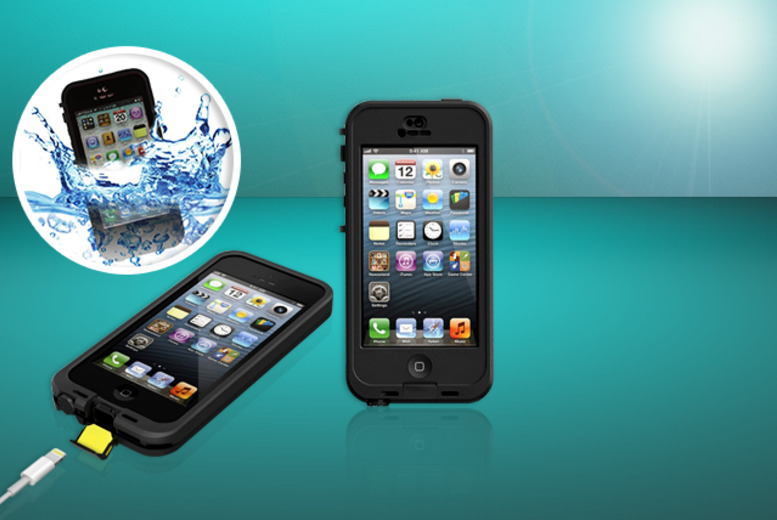 £14.99 instead of £49 (from Aven Republic) for a waterproof iPhone 5/5s case - save 69% + DELIVERY IS INCLUDED