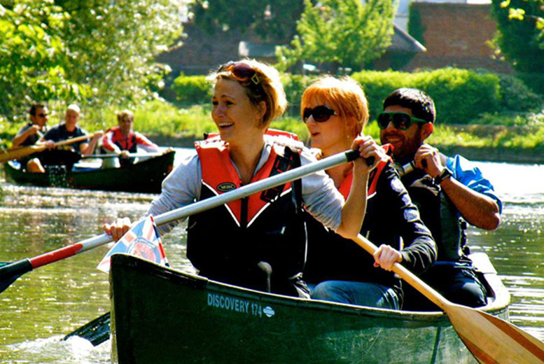 £49 instead of £110 for a Thames canoe trip for 2 with Back and Beyond Adventures, Petersham – save 55%