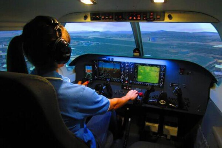 From £29 for a 30-minute flight simulator experience for one person from Flight Sim Centre, Newcastle upon Tyne, from £49 for 60-minutes - choose from three aircrafts and save up to 51%