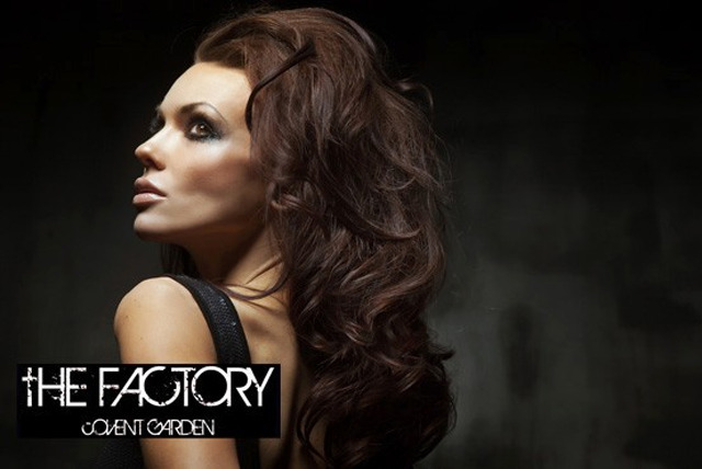 £19 instead of £490 for a makeover & photoshoot for 2 inc. hair styling, makeup, facial, bubbly + 2 prints at The Factory, Covent Garden - save 96%