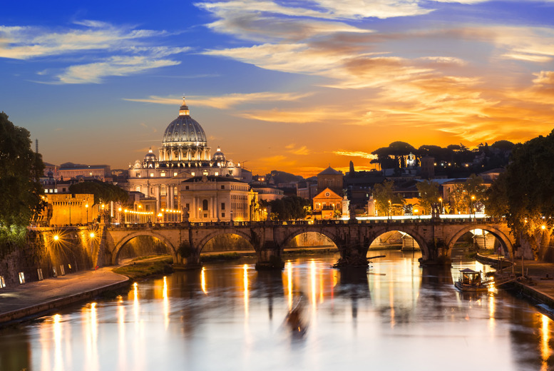 From £99pp (with iFly) for a 2-night Rome break with return flights, your choice of accommodation & breakfast - save up to 45%