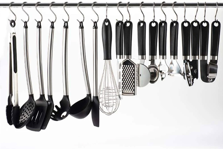 From £5.99 for 20 stainless steel hanging hooks from Wishwhooshoffers - choose your size!