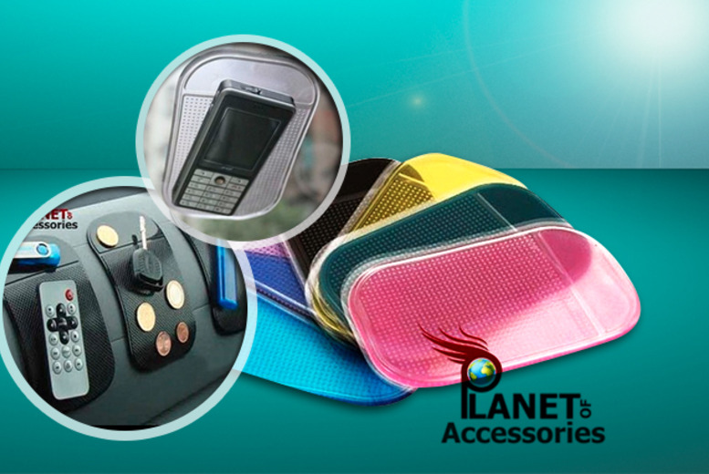 £3 instead of £9.99 (from Planet of Accessories) for a sticky dashboard mat, £5 for two or £7 for three - save up to 70% + DELIVERY IS INCLUDED