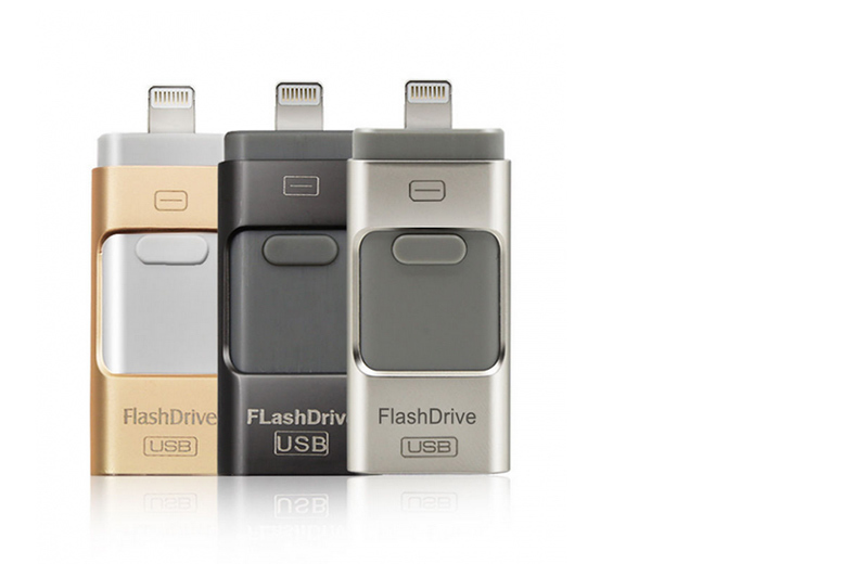 £12 instead of £55 (from Bootique Shop) for a 16GB iFlash drive for iPhone or iPad, £15 for a 32GB, or £24 for a 64GB drive - choose from three colours and save up to 78%
