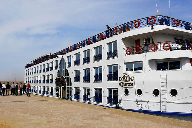 From £119pp (with OMGhotels.com) for a 7-night 4* full board Emilio Prestige River Nile cruise - save up to 74%