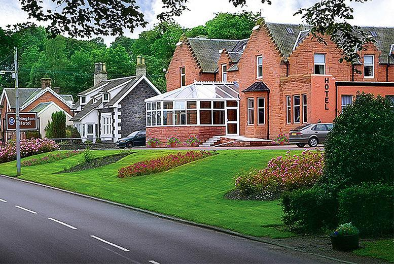 £59 (at The Abington Hotel, South Lanarkshire) for a 1nt break for 2 inc. breakfast, 3-course dinner and