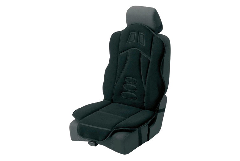 £17.99 for a black padded car seat cushion