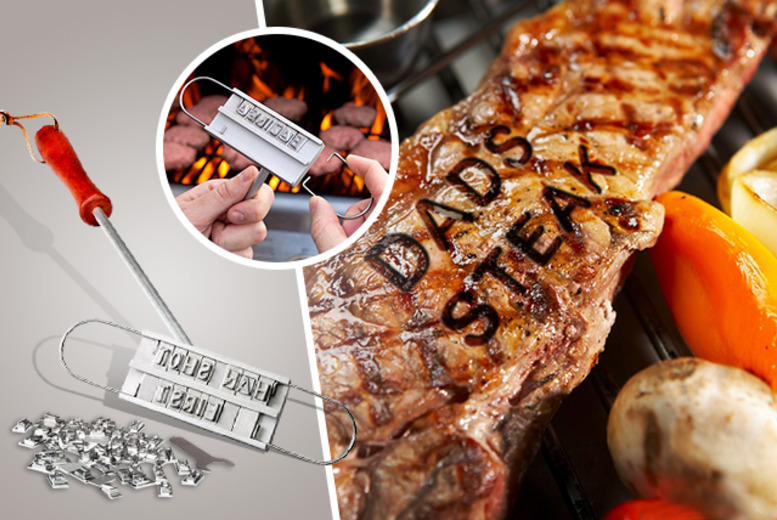 £13.99 instead of £29.99 (from London Exchainstore) for a personalised steak branding iron - save 53%